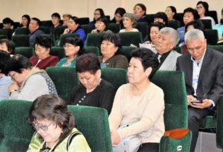 Состоялся круглый стол по вопросам сохранения и развития языков народов Республики Тыва