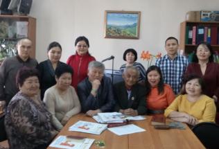 Состоялась встреча с писателями Республики Тыва по организации совместной работы по развитию родного (тувинского) языка среди детей дошкольного возраста)